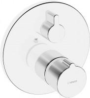 Hansa Funktionseinheit mit Dekorset Thermostat Wanenbatterie Hansahome 8862 chrom, 88623045