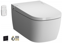 Vitra V-care Dusch Wand-WC Bidet Basic Weiß VitraClean