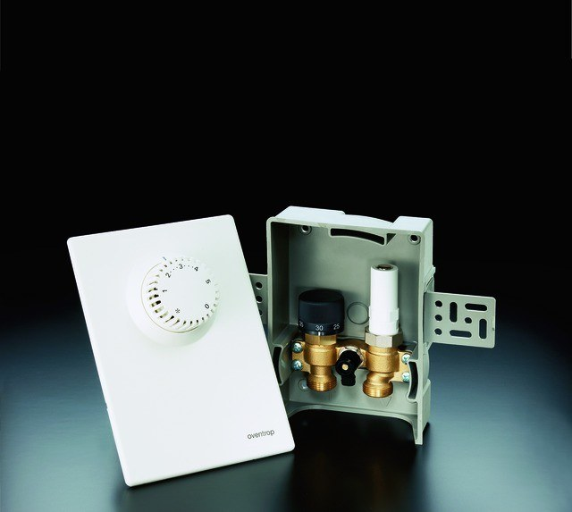 Einzelraumregelung Unibox E plus mit Thermostat und RTL Ventil 1022633 1022633