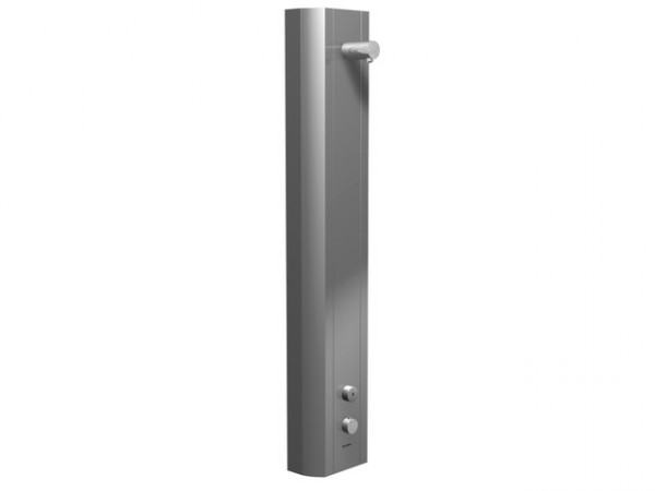 Schell Vorwand-Duschpaneel LINUS DP-SC-T Funktion Selbstschl.Therm. Alu-eloxiert