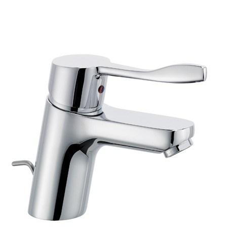 LOGO NEO CARE Waschtisch-Einhandmischer m. Public Hebel 120mm chrom, 372840575 372840575