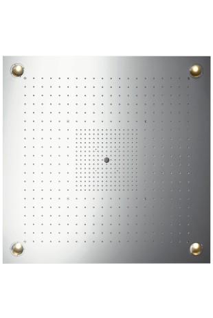 Hansgrohe Kopfbrause Axor Starck ShowerHeaven 970x970mm edelstahl mit Licht, 10623800