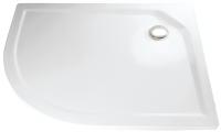 HSK Acryl Viertelkreis-Duschwanne super-flach 120 x 90 x 3,5 cm, ohne Schürze