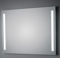KOH-I-NOOR LED Wandspiegel mit Seitenbeleuchtung, B: 800, H: 900, T: 33 mm