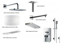 HSK Shower Set 2.25 Softcube chrom