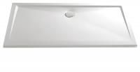 HSK Acryl Rechteck-Duschwanne super-flach 75 x 90 x 3,5 cm, ohne Schürze