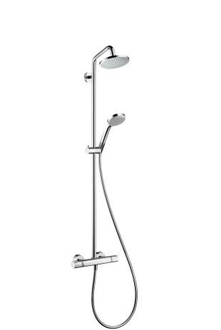 Showerpipe Croma 160 EcoSmart chrom , 27238000 27238000