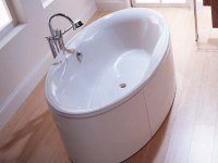 Hoesch Badewanne Maxi oval 2000x1000, weiß