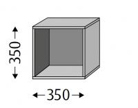 Sanipa Cubes offen CU11014, Pinie-Grau