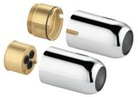 Keuco Adapter Plan 54970, für Flexx Boxx EHM DN 20, Nickel poliert, 54970040401