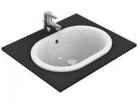 Ideal Standard Einbauwaschtisch Connect oval