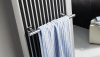 HSK Handtuchhalter, chrom, 581 mm, für Badheizkörper Sky
