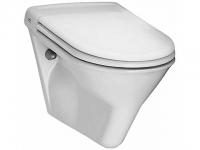 Laufen Wand-Flachspül-WC Vienna Comfort, erhöht, 820470 weiss
