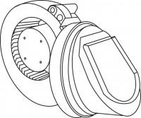 Mepa Sanicontrol Lüfter mit Rückschlagklappe für Air-WC