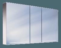 Schneider Spiegelschrank Graceline 150/3/FL, 1x49W+1x35W 1500x700x120 alueloxiert, 116.150.02.50