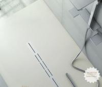 Fiora Silex Privilege Duschwanne, Breite 80 cm, Länge 120 cm, Farbe: weiss