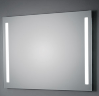 KOH-I-NOOR T5 Wandspiegel mit Seitenbeleuchtung, B: 100 cm, H: 60 cm