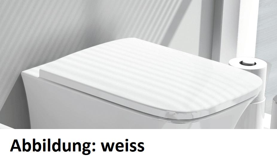 Cow WC-Sitz mit Softclosing, schwarz glänzend CWA0020300