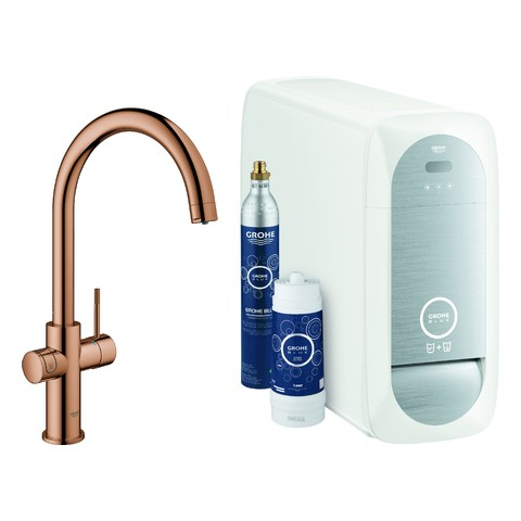 GROHE Blue Home Starter Kit 31455 Bluetooth/WIFI C-Ausl. warm sunset, 31455DA1