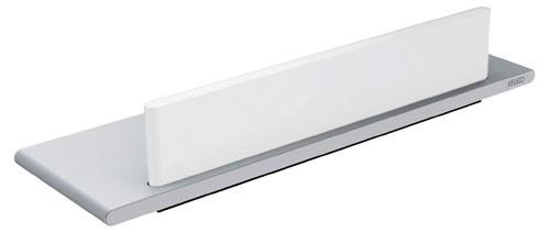 Keuco Duschablage Edition 400 11559, mit Glasabzieher, weiß