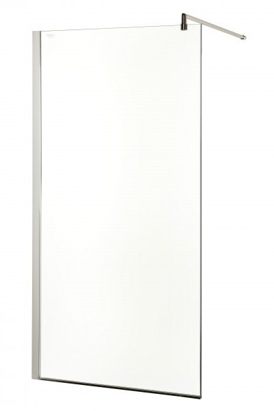 Neuesbad Design Seitenglas freistehend 120 cm breit