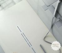 Fiora Silex Privilege Duschwanne, Breite 110 cm, Länge 140 cm, Farbe: weiss