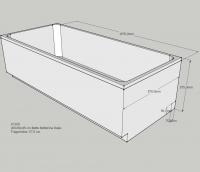 Neuesbad Wannenträger für BetteOne Relax 200x90cm