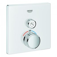 Grohe THM Grohtherm SmartControl 29153 eckig FMS 1 Absperrventil moon white, 29153LS0