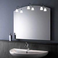 Zierath Lichtspiegel Ferrara II 10080 BxH: 1000x800, Lux:360, 3 x 20 W, FerraraII10080