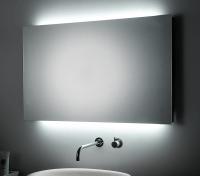 KOH-I-NOOR T5 Spiegel mit Raumbeleuchtung, B: 100 cm, H: 60 cm