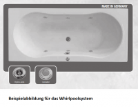 Neuesbad Whirlpoolsystem 1, Wassersystem mit pneumatischer Steuerung