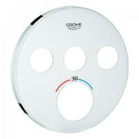 GROHE Rosette 49036 für SmartControl UP-THM rund mit 3 ASV moon white, 49036LS0