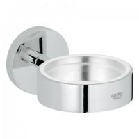 Grohe Halter Essentials 40369 für Becher Seifenschale oder Seifenspender chrom, 40369001