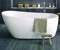 Neuesbad freistehende Badewanne Luxus 2, L:1750, B:780, H:715 mm, weiss glänzend