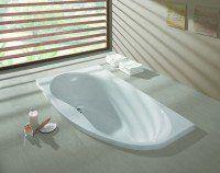 Hoesch Badewanne Midi Eck 1750x950 rechts mit loser