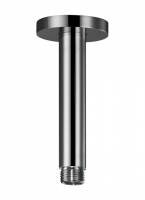 HSK Deckenarm Rund, mit Rosette, Länge 140 mm