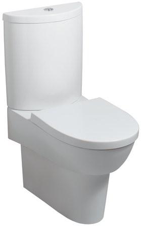 Tiefspül-WC Flow, 20090000, weiss, für Kombination mit Spülkasten 200900000