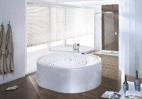 Hoesch Badewanne Ergo+ oval 2000x1600 freistehend,