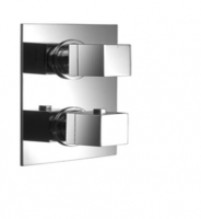 AquaConcept Kross UP-Thermostatarmatur mit AC-Einbaubox 1-Wegeumstellung