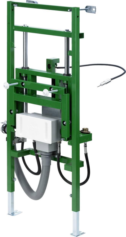 Waschtisch-Element Viega Eco Plus, 8164.21 in 1130mm Stahl grün 736903