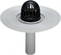 Viega Balkon-/Terrassenablauf Advantix 4946.2 in 70mm Kunststoff grau