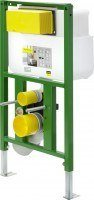 Viega WC-Element 8130.95, in 830x490mm Stahl grün