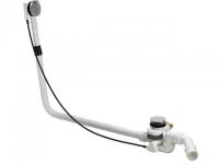 Riho Viega Multiplex Trio-F Ab,-Überlauf-und Einlaufgarnitur, Wasserzulauf von unten