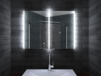Neuesbad Aluminium LED Spiegelschrank, B:800, H:700, T:125 mm