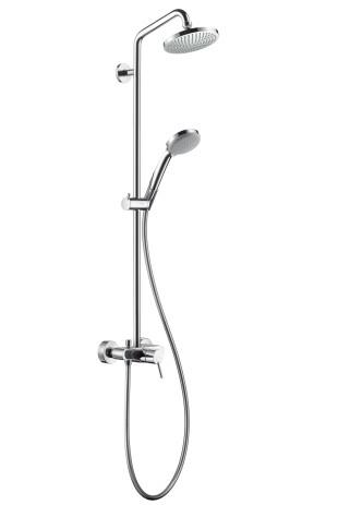 Hansgrohe Showerpipe Croma 100 Einhebelmischer