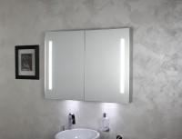 Koh-I-Noor Spiegelschrank mit intergrieter Led_Beleuchtung RIFLESSI 90x70x12,5, 45302B