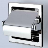 Geesa Hotel Collection Toilettenpapierhalter mit Deckel für den Einbau