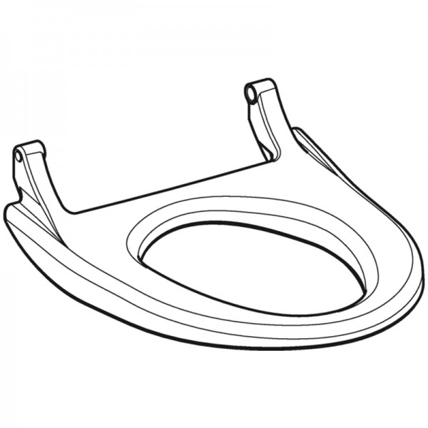 Geberit WC-Sitz zu AquaClean 4000 Aufsatz weiß-alpin