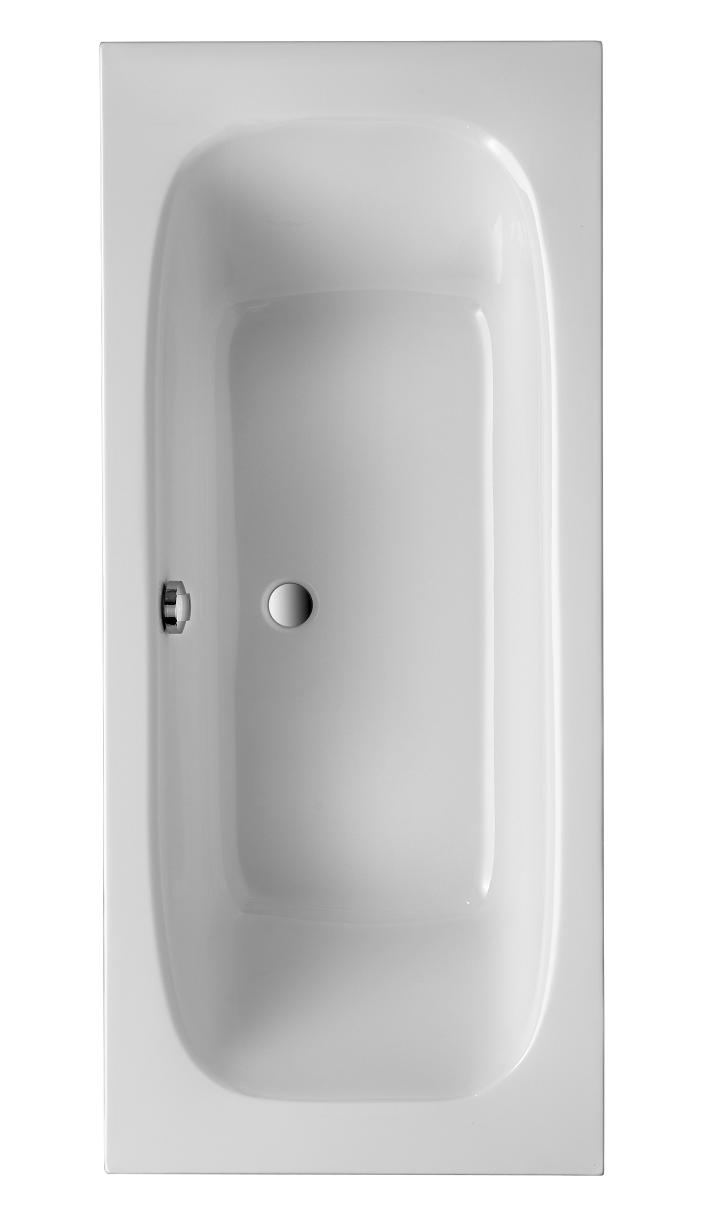 Acryl Badewanne Malta 1800x800 mm, weiß