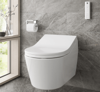 TOTO WASHLET RX mit WC wandhängend, randlos, Tornado Flush,TCF794CG